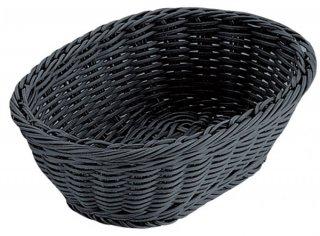 小判型バスケット ブラック 24型 漆器 小判型バスケット 業務用