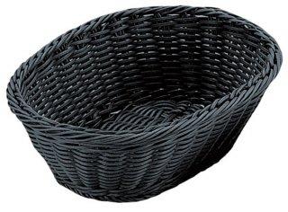 小判型バスケット ブラック 27型 漆器 小判型バスケット 業務用