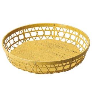 ABS尺0寸竹取丸かご ゴマ竹 漆器 丸籠 業務用