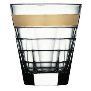 バゲッティ 280オールド ゴールド ガラス ロックグラス 業務用