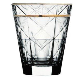 カッレ 340オールド ゴールド ガラス ロックグラス 業務用