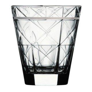 カッレ 280オールド プラチナ ガラス ロックグラス 業務用