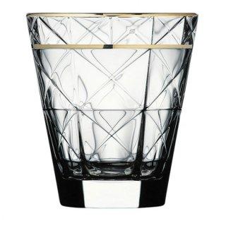 カッレ 280オールド ゴールド ガラス ロックグラス 業務用
