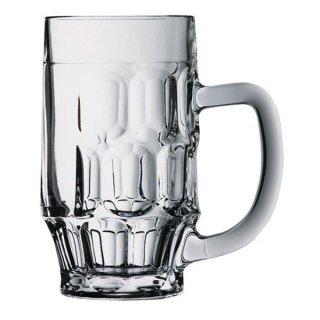 ロージー ビアマグ ガラス ビール 業務用