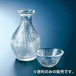 岩徳利 スキ ガラス 酒 業務用