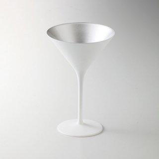 オリンピック カクテル マットホワイト シルバー 漆器 酒器・酒袴・ビール袴 業務用