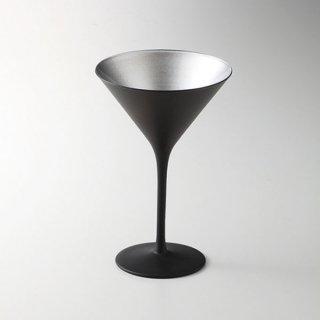 オリンピック カクテル マットブラック シルバー 漆器 酒器・酒袴・ビール袴 業務用