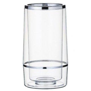 ワインクーラー ダブルウォール ガラス ソムリエナイフ&ワイングッズ 業務用