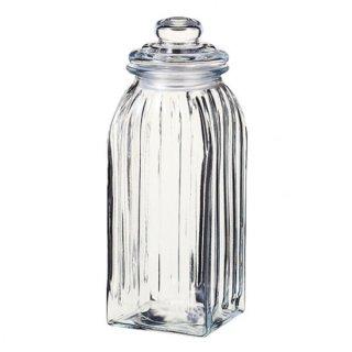 スレンダージャー L ガラス キャニスター&ボトル 業務用