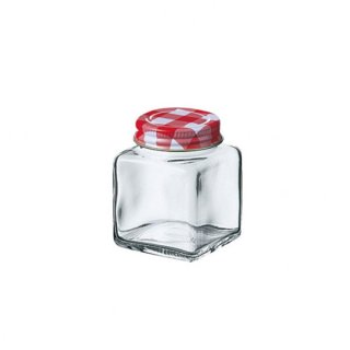 チェックボトル 50角ビン ガラス キャニスター&ボトル 業務用