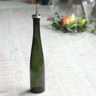 オイルボトル 375 オリーブ ガラス カスター&ディスペンサー 業務用
