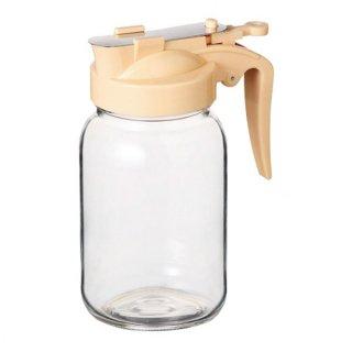 ハニーボトル 355 クリーム ガラス カスター&ディスペンサー 業務用
