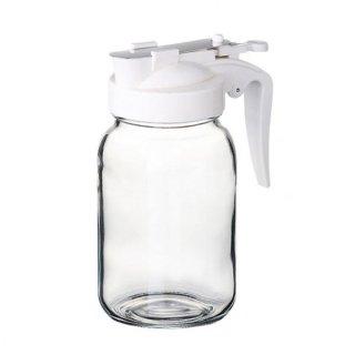 ハニーボトル 355 ボーン ガラス カスター&ディスペンサー 業務用