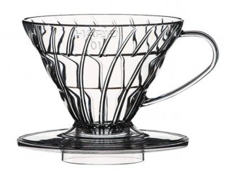 V60 透過ドリッパー 01 ASクリア ガラス コーヒーグッズ 業務用