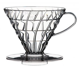V60 透過ドリッパー 02 ASクリア ガラス コーヒーグッズ 業務用