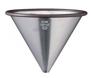SCS ステンレスフィルター 2cups ガラス コーヒーグッズ 業務用