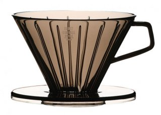 SCS ブリューワー 2cups クリアグレー ガラス コーヒーグッズ 業務用