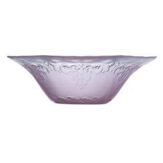 フィオーナ 15.5cmボール ピンク ガラス デザート 業務用