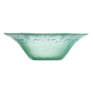 フィオーナ 15.5cmボール グリーン ガラス デザート 業務用
