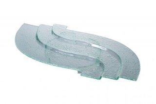 3段オードブルスタンド ガラススタンド付大 ガラス ビュッフェウェア 業務用