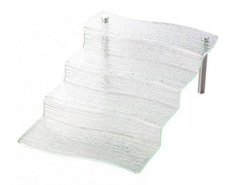 4ステップ スタンドM ガラス ビュッフェウェア 業務用