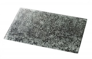 プラックビュッフェ 500×340 ノワール ガラス ビュッフェウェア 業務用