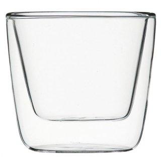 ダブルウォール コニカル120 ガラス ショット&アミューズ 業務用