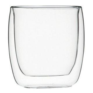 ダブルウォール ミケランジェロ240 ガラス ショット&アミューズ 業務用