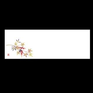 箸置マット 南天 1月〜2月 100枚 紙製品 箸置マット 業務用