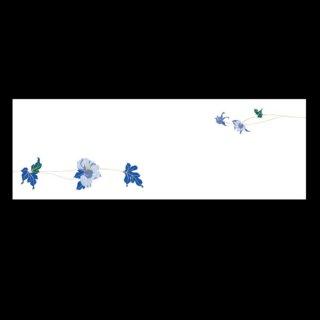 箸置マット 牡丹 4月〜5月 100枚 紙製品 箸置マット 業務用