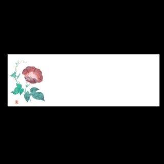 箸置マット 朝顔 7月〜8月 100枚 紙製品 箸置マット 業務用