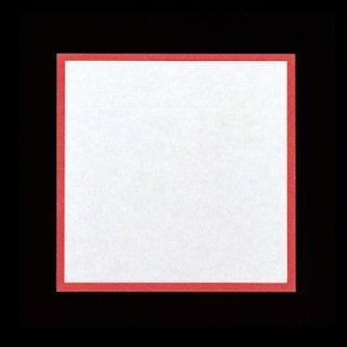 耐油天紙 赤枠 15角 300枚 紙製品 天紙 業務用