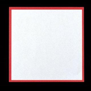 耐油天紙 赤枠 18角 300枚 紙製品 天紙 業務用