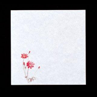 耐油懐敷 12角 秋桜 100枚 紙製品 天紙 業務用