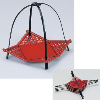小 いさざ籠 マロン 漆器 かご・手提げ盛器 楕円・変型 業務用