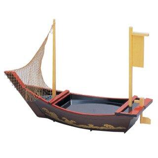 2尺3寸盛込舟 梨地波 網付 漆器 盛込舟 業務用
