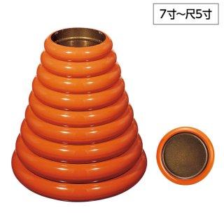 S.D.X桶朱内梨地 7寸〜尺5寸 漆器 すし桶7寸〜尺5寸 業務用