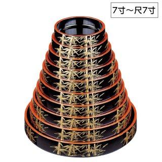 D.X富士型桶溜パール竹 7寸〜尺7寸 漆器 すし桶7寸〜尺5寸 業務用