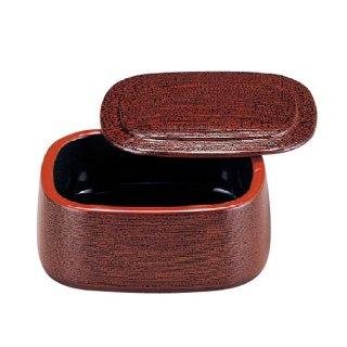 D.X小判ちらし桶溜刷毛目 漆器 ちらし桶 業務用