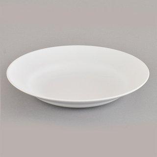 白20cm受皿 メラミン 中華食器 ラーメン丼受皿 業務用