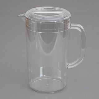 蓋付ピッチャー 2.2L 樹脂製品 喫茶・お茶用品・ポット 業務用 約19.5cm