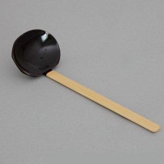 木製杓子 アメ色 木製品  スプーン・フォーク・レンゲ  業務用