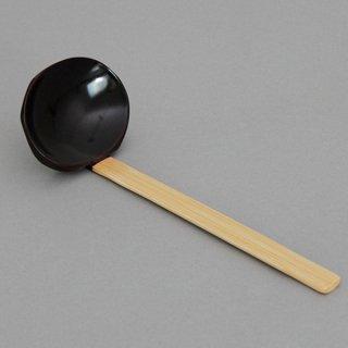 木製杓子 1人用 大 アメ色 木製品  スプーン・フォーク・レンゲ  業務用