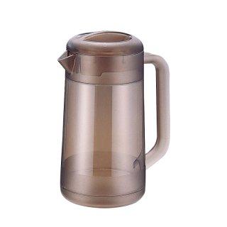 BKポリカ丸型ウォーターピッチャー 2.1L スモークブラウン 樹脂製品 喫茶・お茶用品・ポット 業務用