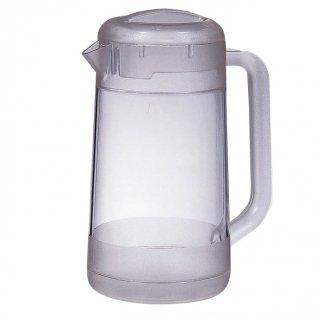 BKポリカ丸型ウォーターピッチャー 2.1L クリアー 樹脂製品 喫茶・お茶用品・ポット 業務用