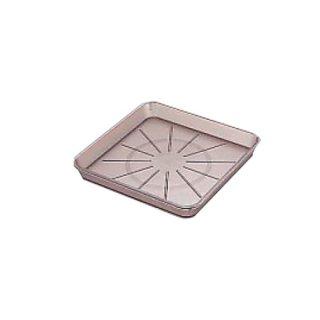 ウォーターポット15cm角受皿 ブラウン 樹脂製品 喫茶・お茶用品・ポット 業務用