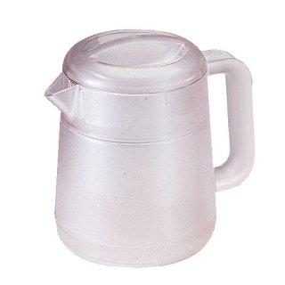 BKポリカ丸型リトルピッチャー 1.3L クリアー 樹脂製品 喫茶・お茶用品・ポット 業務用
