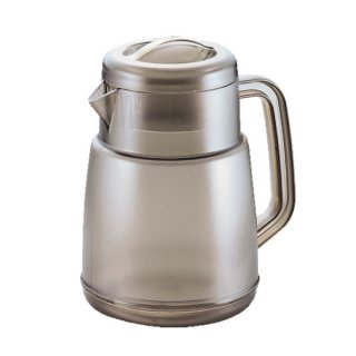 ポリカーボネート ニューピッチャー 1.6L ブラウン 樹脂製品 喫茶・お茶用品・ポット 業務用