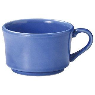 ロティ 片手スープカップ ブルー 洋食器 スープ 片手スープ 業務用 カネスズ 洋食 洋風 コンソメスープ コーンスープ