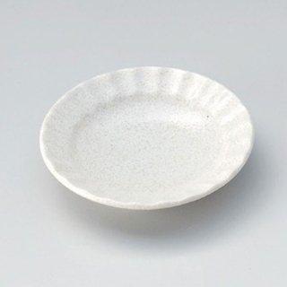 白伊賀しのぎ3.0皿 10cm 和食器 小皿 業務用